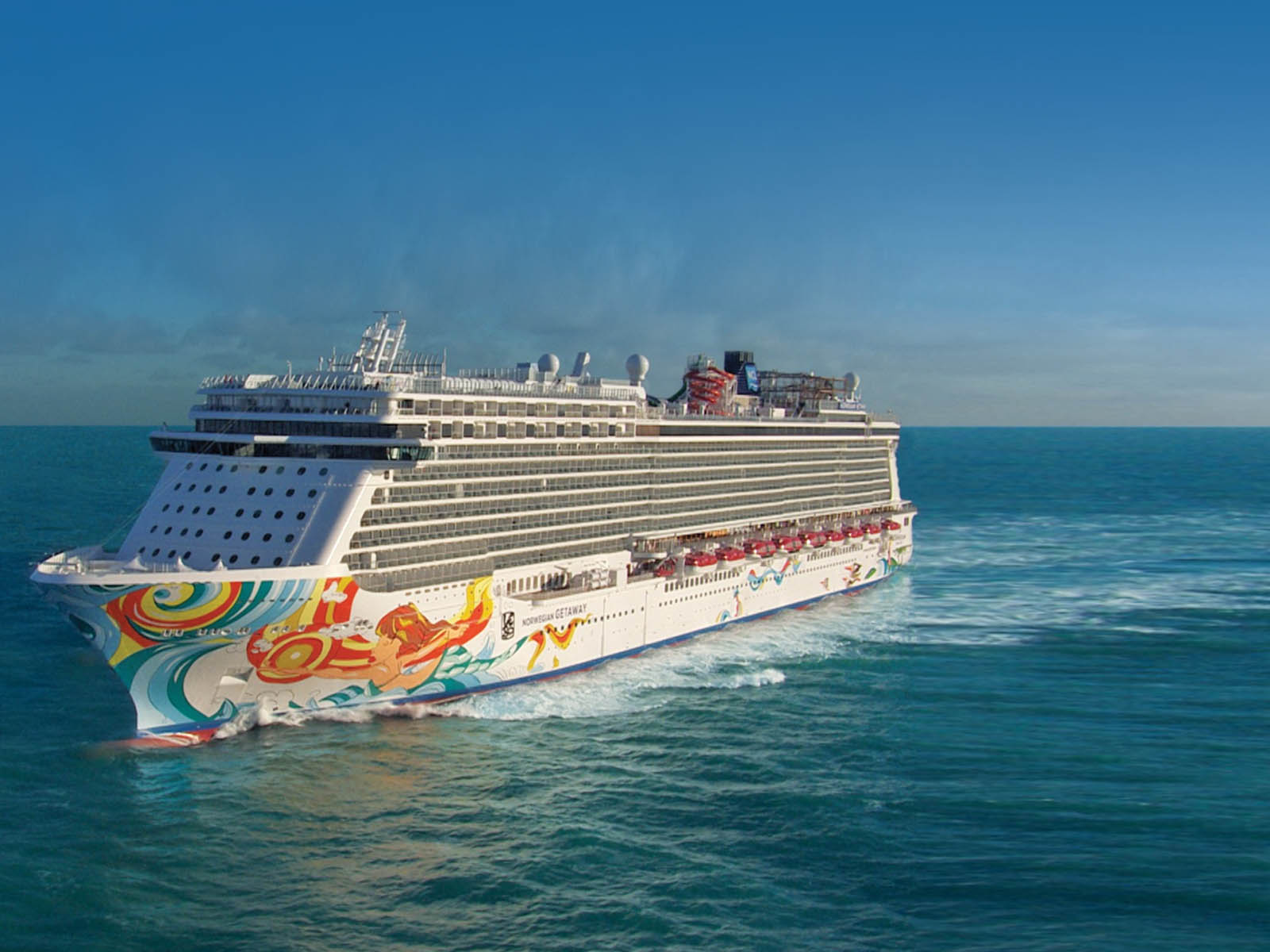 Norwegian Cruiseline - Norwegian Getaway Ship