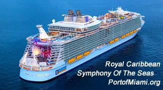 Port of Miami Symphony of the Seas Royal Carribbean
